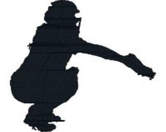 Girlcatcher clipart clip freeuse Free Softball Catcher Cliparts, Download Free Clip Art, Free Clip ... clip freeuse