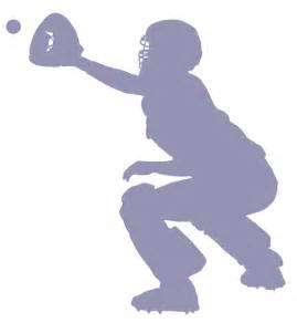 Girlcatcher clipart clip art black and white Free Softball Catcher Cliparts, Download Free Clip Art, Free Clip ... clip art black and white