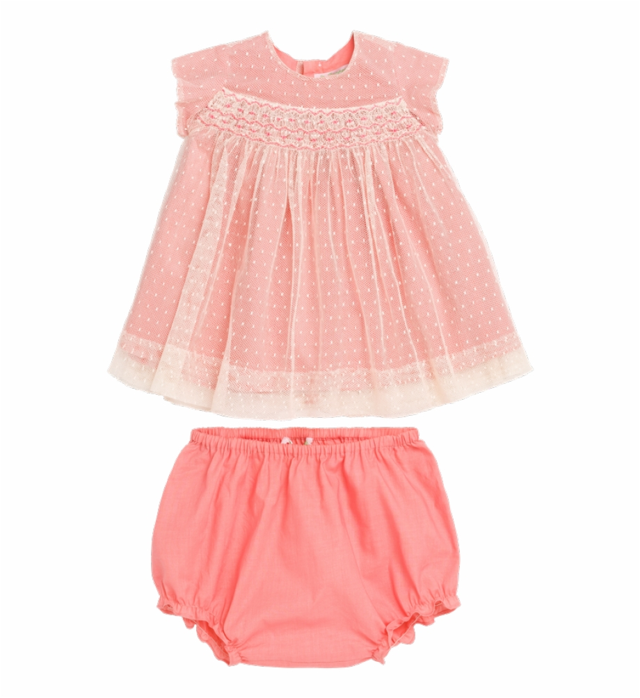 Girls dress clipart picture freeuse stock Maruska Baby Girls\' Dress Blush Pink - Lace Free PNG Images ... picture freeuse stock