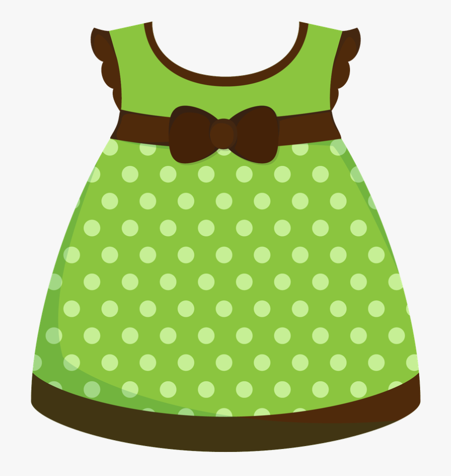 Baby Girl Dress Clipart - Girls Dress Clip Art #338679 - Free ... clipart black and white download