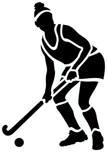 Girls field hockey clipart vector black and white download Girls field hockey clipart 1 » Clipart Portal vector black and white download