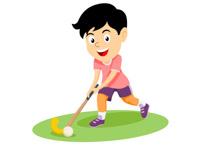 Girls field hockey clipart free stock Sports Clipart - Free Hockey Clipart to Download free stock