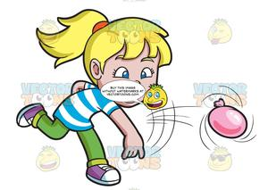 Girls having fun clipart picture free stock A Girl Having Fun With Water Balloons picture free stock