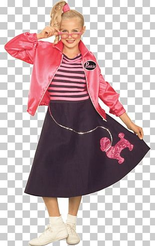 Girls in poodle skirts and rollerskates clipart png royalty free library 1950s Poodle Skirt Costume Fashion Dress PNG, Clipart, 1950s ... png royalty free library