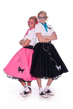 Girls in poodle skirts and rollerskates clipart jpg library stock 32 Best poodle skirts images in 2015 | Skirts, Dresses, Poodle jpg library stock