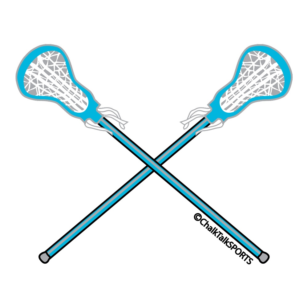 Girls lacrosse stick clipart
