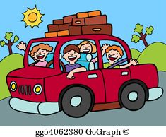 Girls road trip clipart picture royalty free library Road Trip Clip Art - Royalty Free - GoGraph picture royalty free library