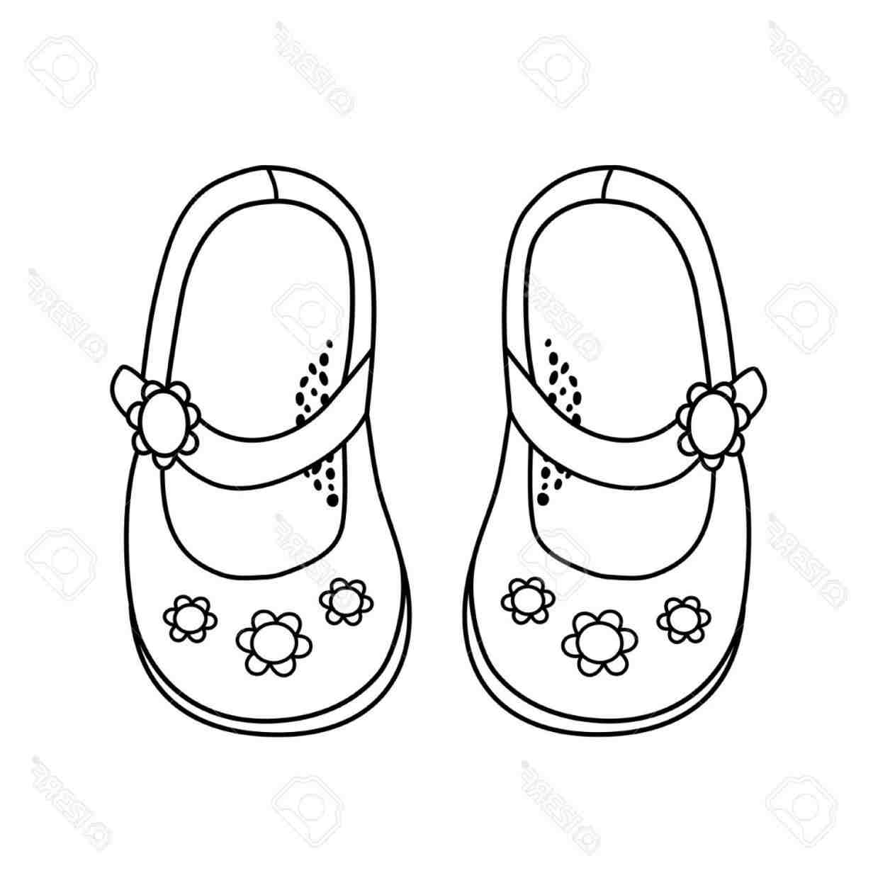Princess shoes for girls clipart black and white clipart transparent Trendy Girls Shoes Clipart Black And White » Clipart Station clipart transparent