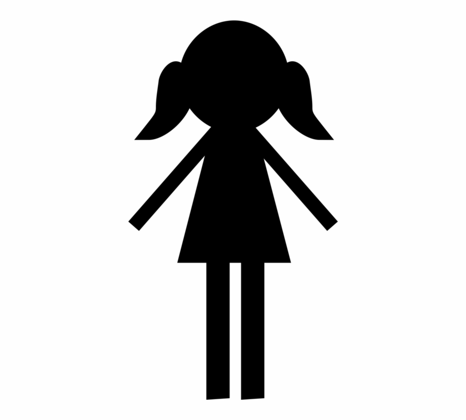 Girls silhouette clipart clip stock Silhouette Girl Child Woman Drawing - Girl Silhouette Clipart Free ... clip stock