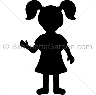 Girls silhouette clipart jpg freeuse library Girl Silhouette Group with 80+ items jpg freeuse library