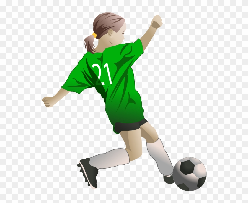 Girls soccer clipart transparent jpg transparent download 28 Collection Of Female Soccer Players Clipart - Girl Play Football ... jpg transparent download