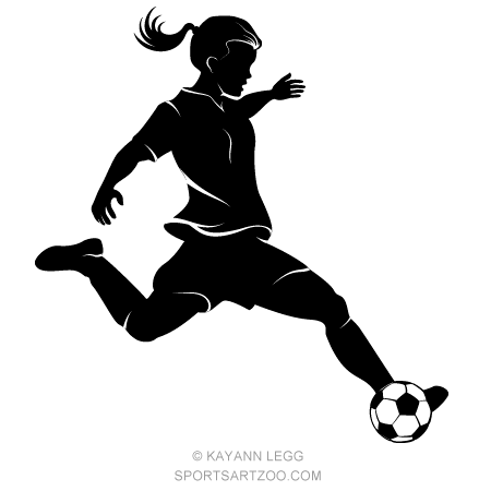 Girls soccer clipart transparent royalty free download Girl Soccer Png & Free Girl Soccer.png Transparent Images #20287 - PNGio royalty free download