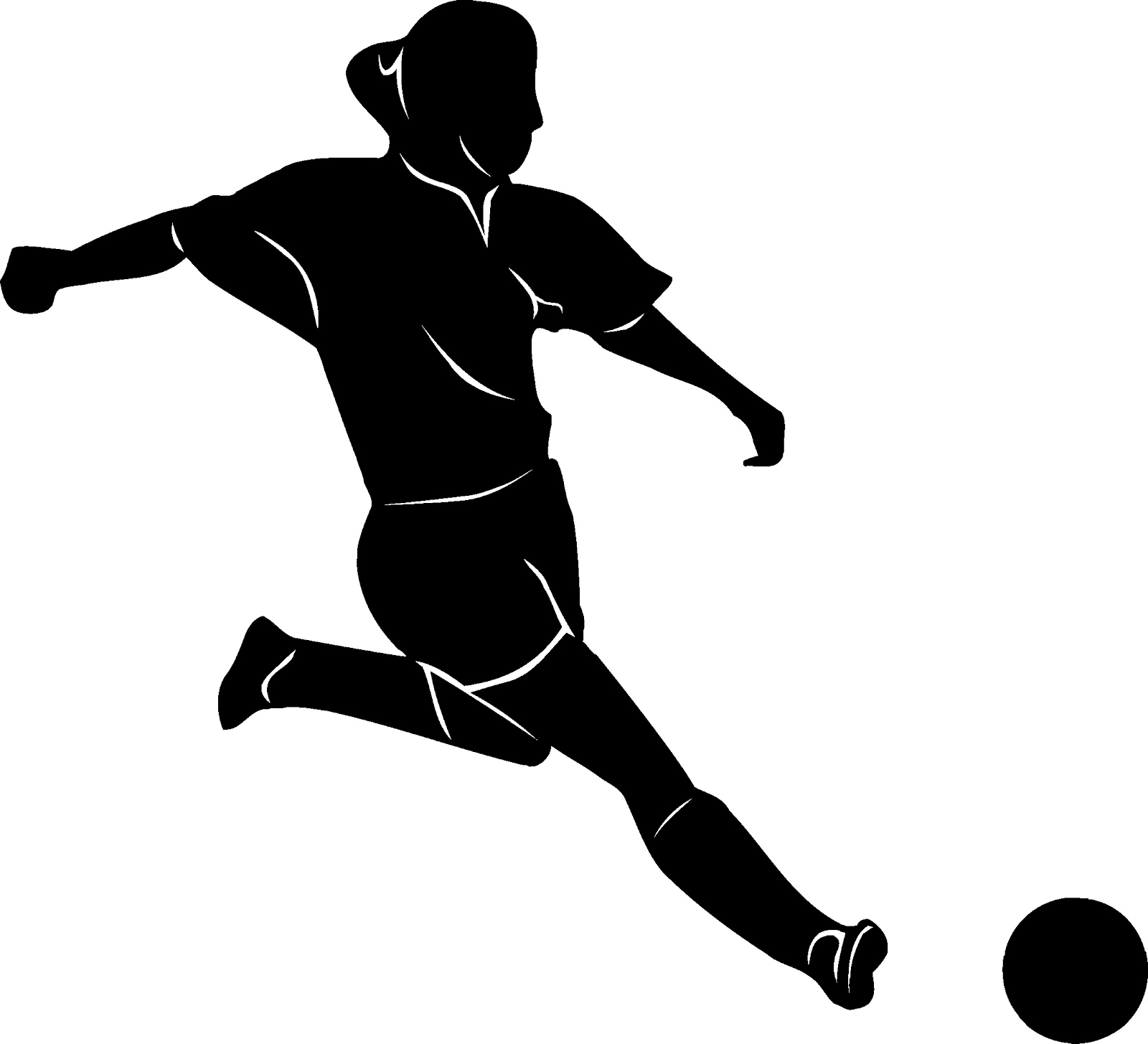 Girls soccer clipart transparent clip transparent stock Girl Hitting Soccer Ball Png & Free Girl Hitting Soccer Ball.png ... clip transparent stock