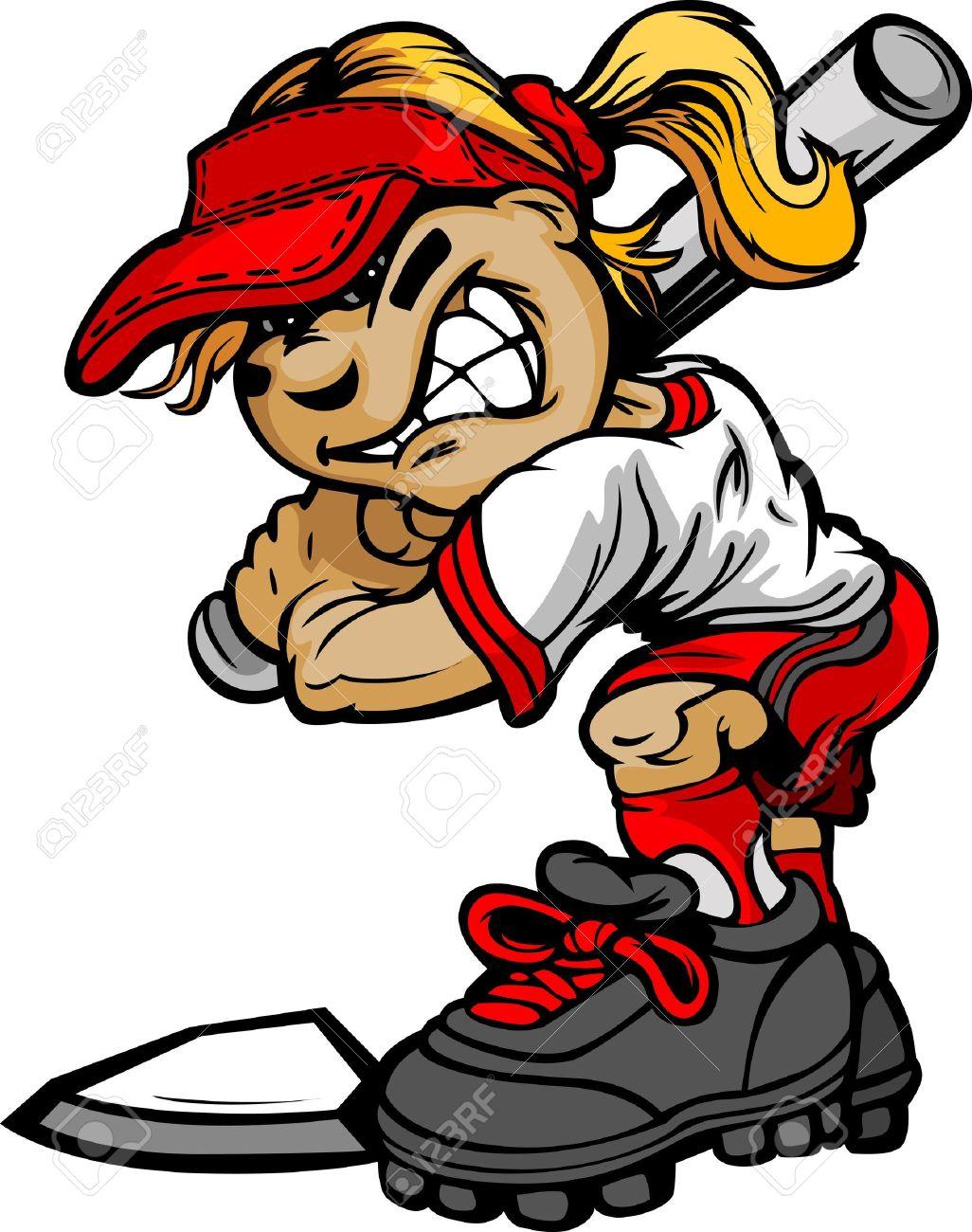 Girls softball clipart svg stock Softball Free Clipart | Free download best Softball Free Clipart on ... svg stock