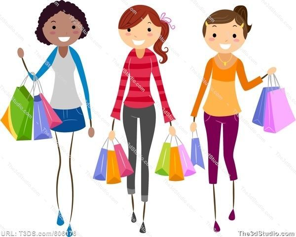 Girly shopping clipart png black and white Girly shopping clipart 2 » Clipart Portal png black and white