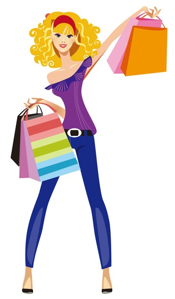 Girly shopping clipart png library stock Collection of 14 free Shopping clipart ladies shopping aztec clipart ... png library stock