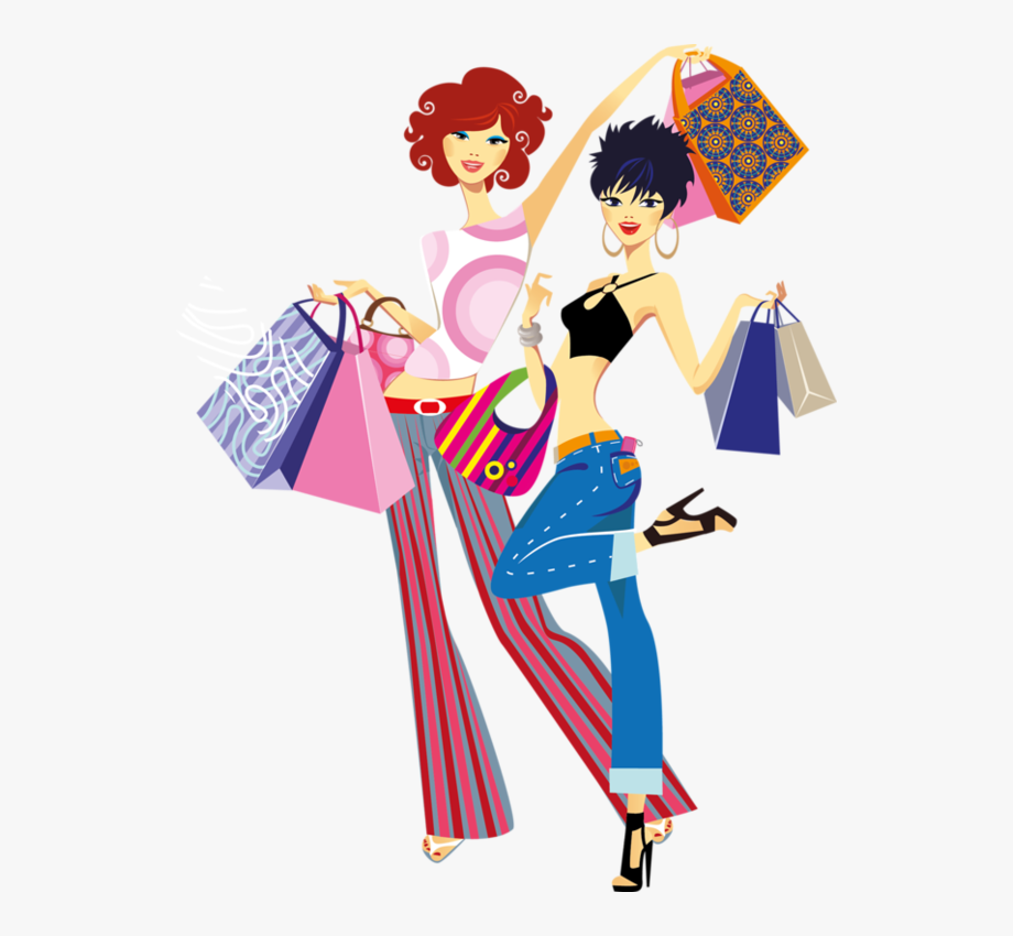 Fashion shopping clipart graphic free download Fashion Shopping Girl Vector #1545269 - Free Cliparts on ClipartWiki graphic free download