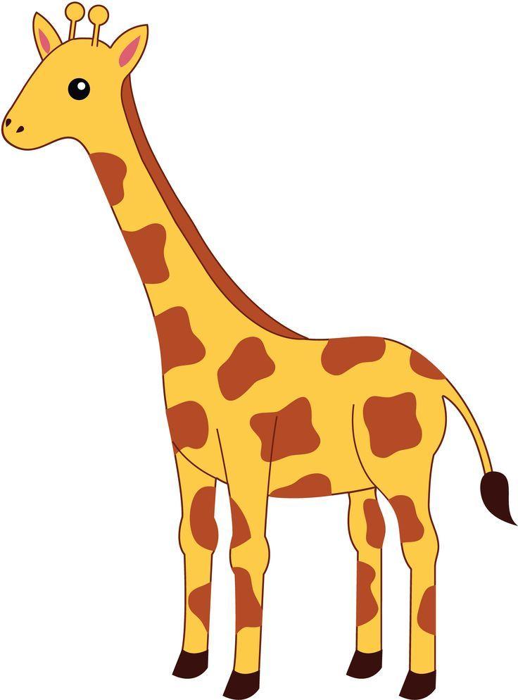 Girrafe clipart jpg freeuse Simple giraffe outline cute giraffe clipart applique | Giraffes ... jpg freeuse