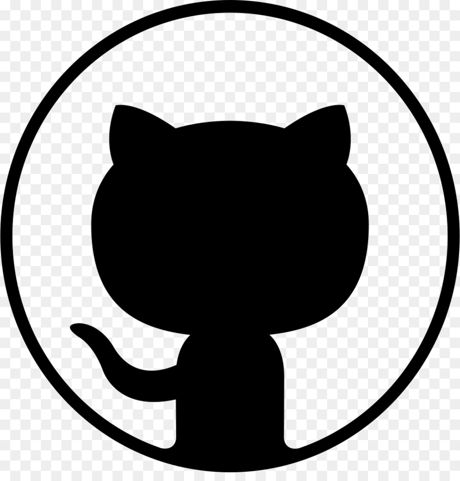 Git clipart clipart freeuse library Cat Silhouette png download - 956*980 - Free Transparent Github png ... clipart freeuse library