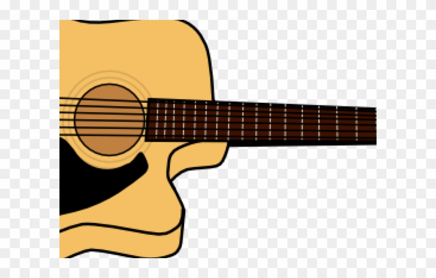 Gitara clipart svg transparent library Acoustic Guitar Clipart Gitara - Acoustic Guitar Clip Art - Png ... svg transparent library