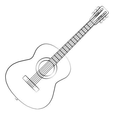 Gitara clipart picture free download Gitara clipart black and white 4 » Clipart Portal picture free download
