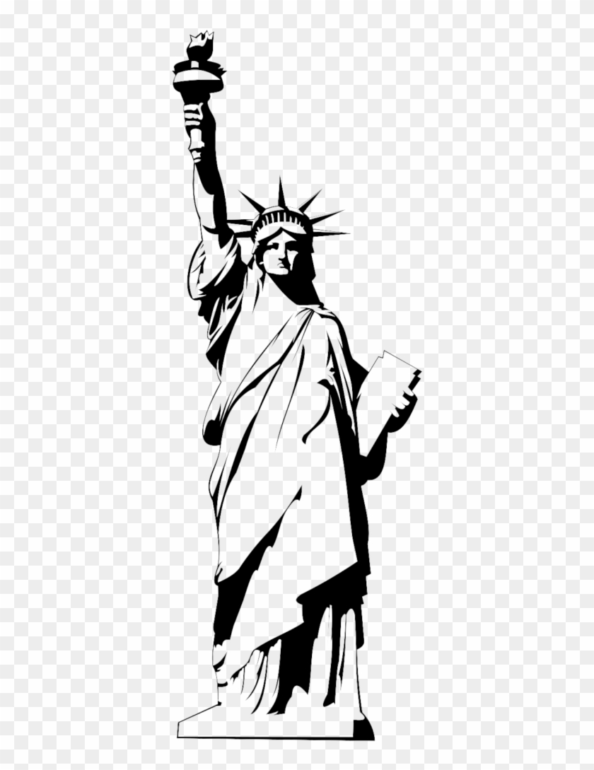 Give me liberty clipart black and white jpg black and white stock Statue Of Liberty Png - Statue Of Liberty Black And White Png ... jpg black and white stock