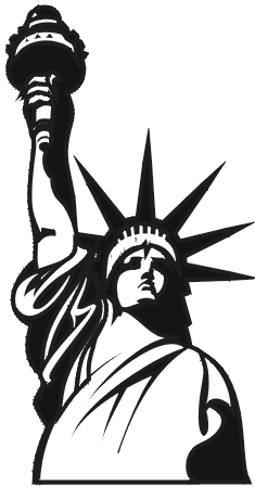 Give me liberty clipart black and white banner freeuse liberty clip art - Google Search | GPX | Statue of liberty tattoo ... banner freeuse