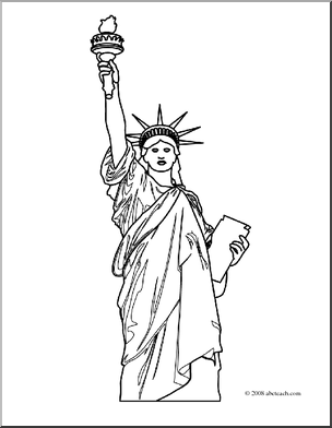 Give me liberty clipart black and white library Statue of liberty clipart black and white clipartfox - Cliparting.com library