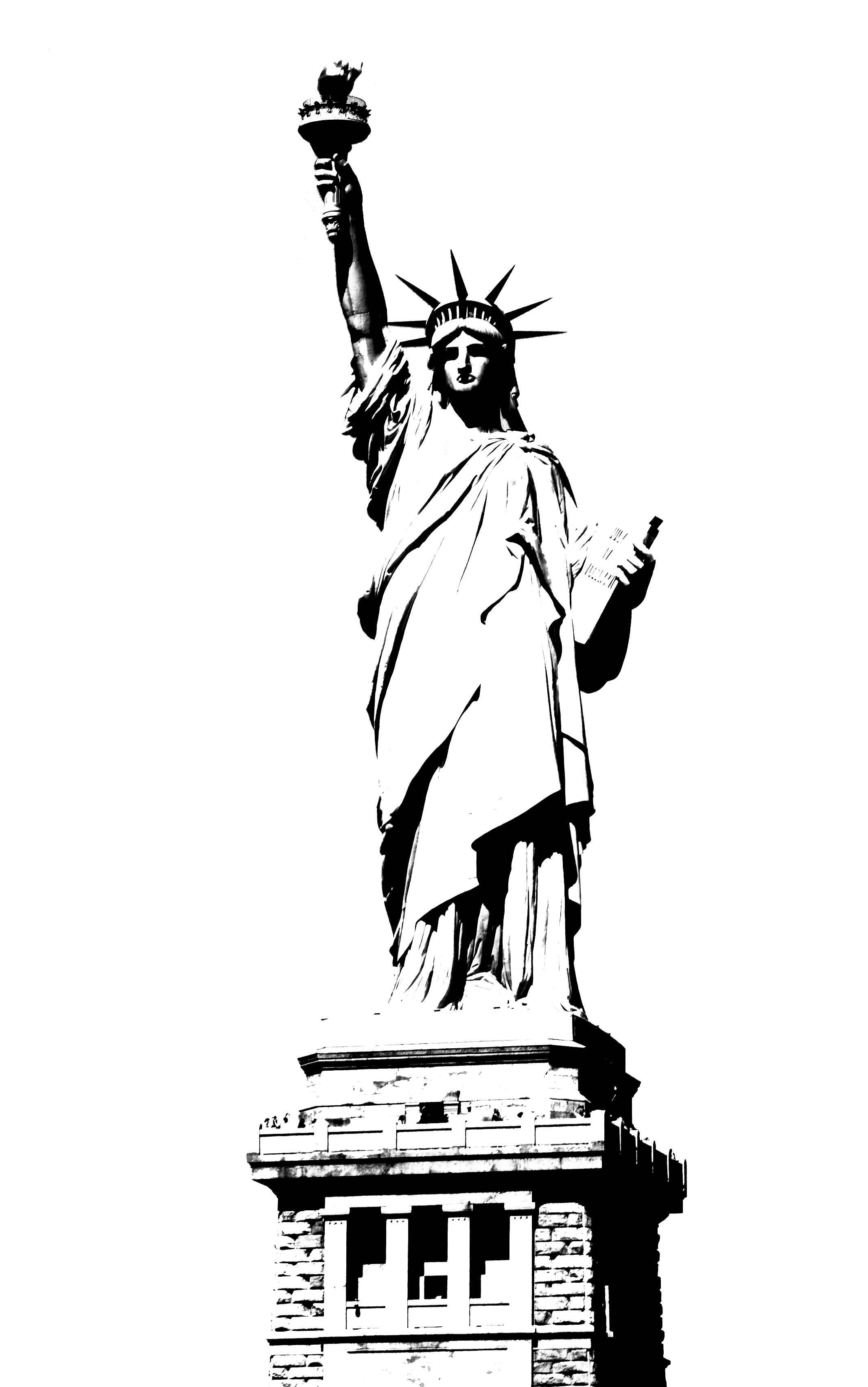 Give me liberty clipart black and white royalty free stock Statue of liberty clip art black and white clipart kid - Cliparting.com royalty free stock