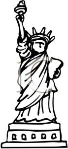 Give me liberty clipart black and white banner library download 44+ Clipart Statue Of Liberty | ClipartLook banner library download