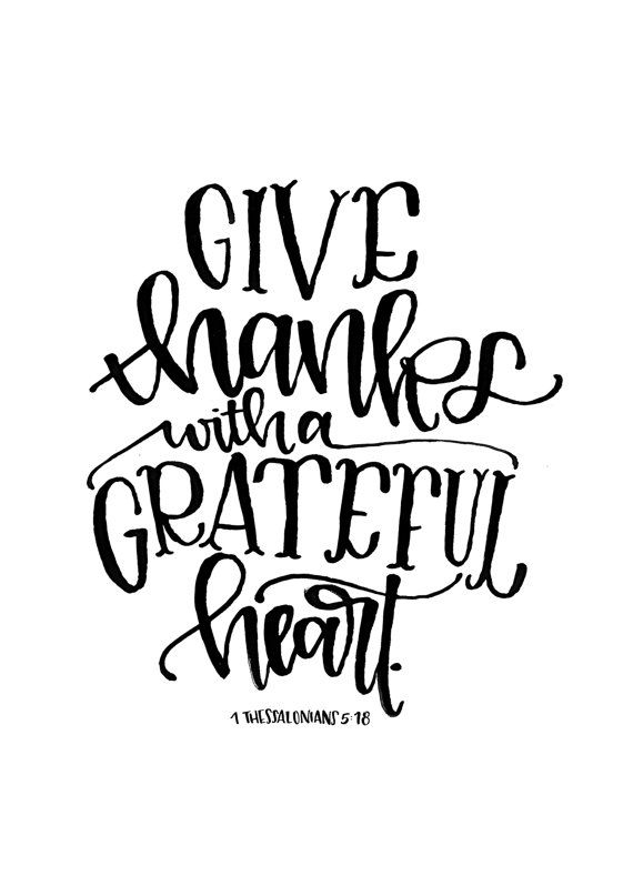 Thank you black and white give thanks clipart black and white free ... image free download