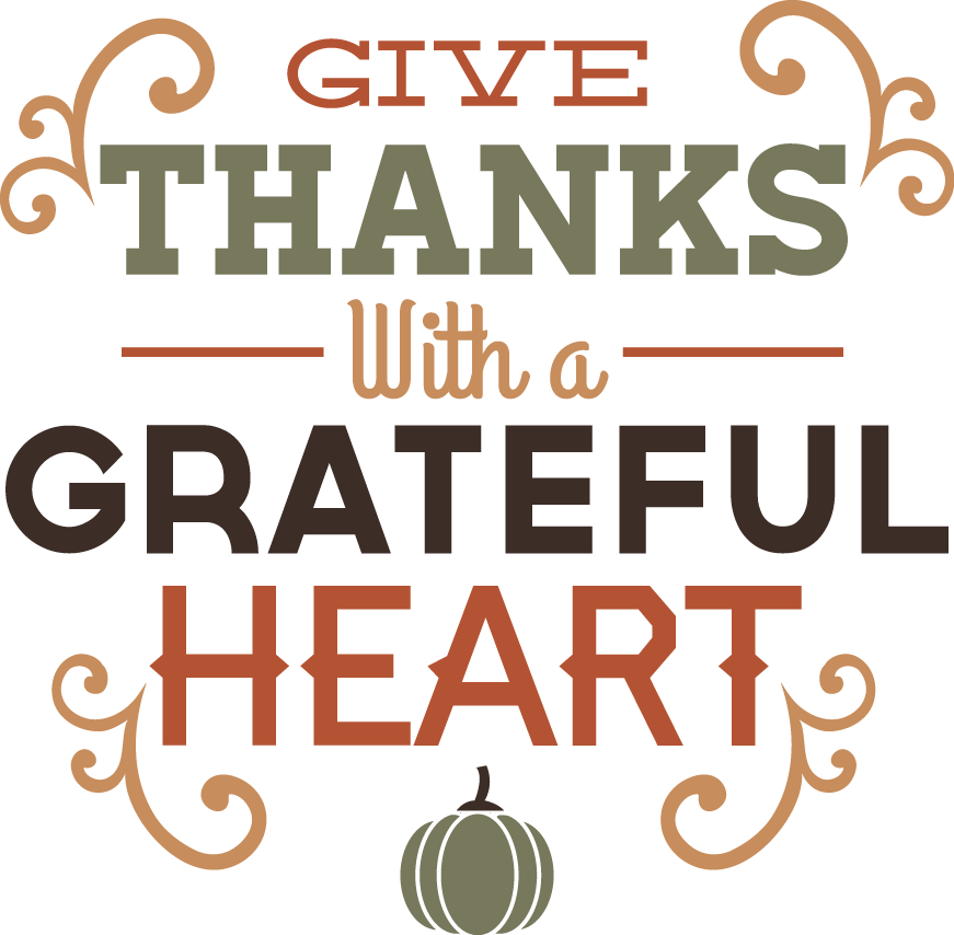 Give thanks with a grateful heart clipart banner black and white library 28+ Collection of Give Thanks With A Grateful Heart Clipart | High ... banner black and white library