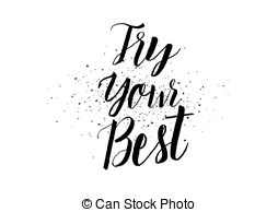 Give your best clipart black and white picture free download Try your best Stock Illustrations. 60 Try your best clip art images ... picture free download