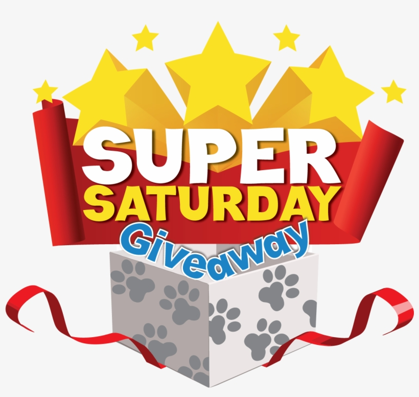 Giveaway clipart png library Download Free png Saturday Clipart Super Saturday Saturday Giveaway ... png library