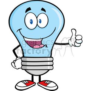 Giving clipart blue image royalty free 6044 Royalty Free Clip Art Blue Light Bulb Cartoon Mascot Character Giving  A Thumb Up clipart. Royalty-free clipart # 389214 image royalty free
