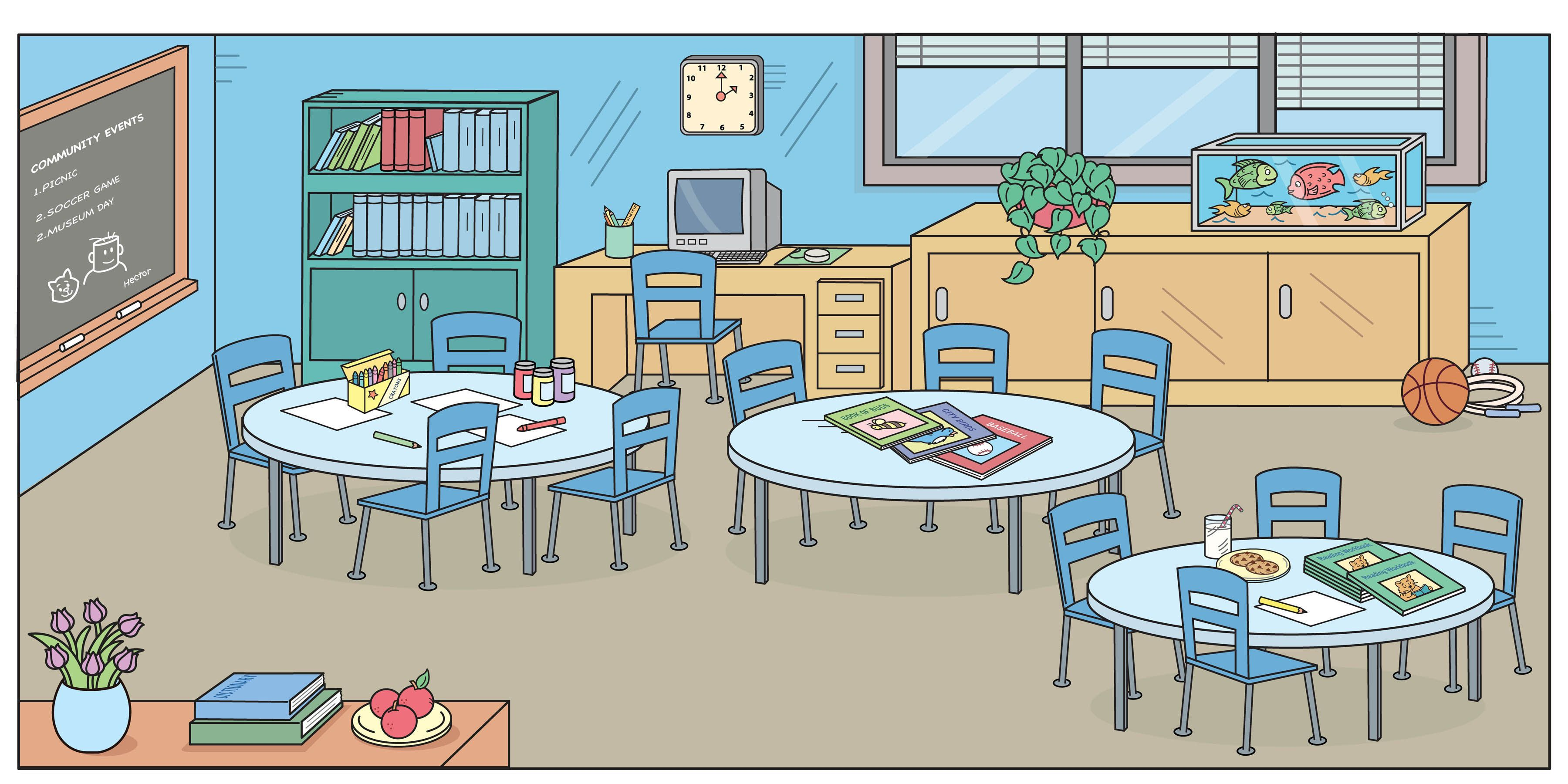 classroom     Good Pictures   Classroom clipart, Classroom ... image free