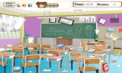 Clean Classroom Clipart images   Good Pictures   Clean classroom ... svg black and white
