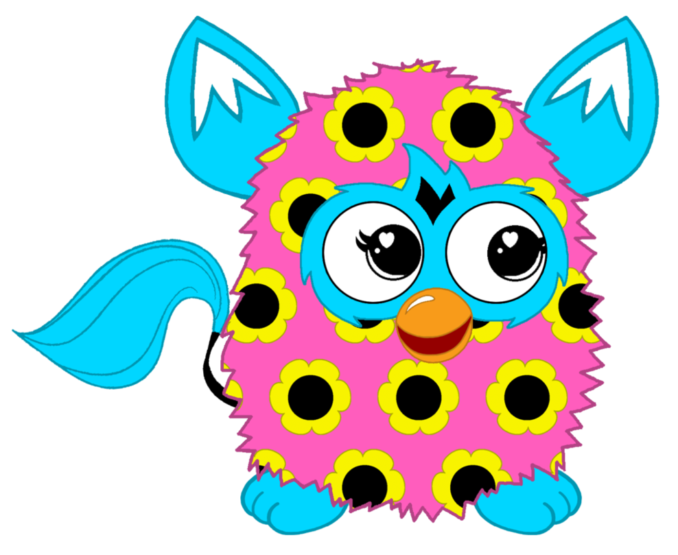 Giving flower clipart image royalty free stock Flower Pattern Furby Boom by FFGOfficial on DeviantArt image royalty free stock