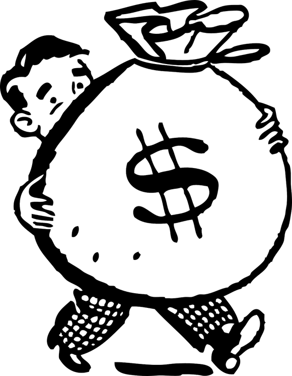 Giving money clipart black and white clip stock 3 Tips for Becoming a Millionaire -- The Motley Fool clip stock