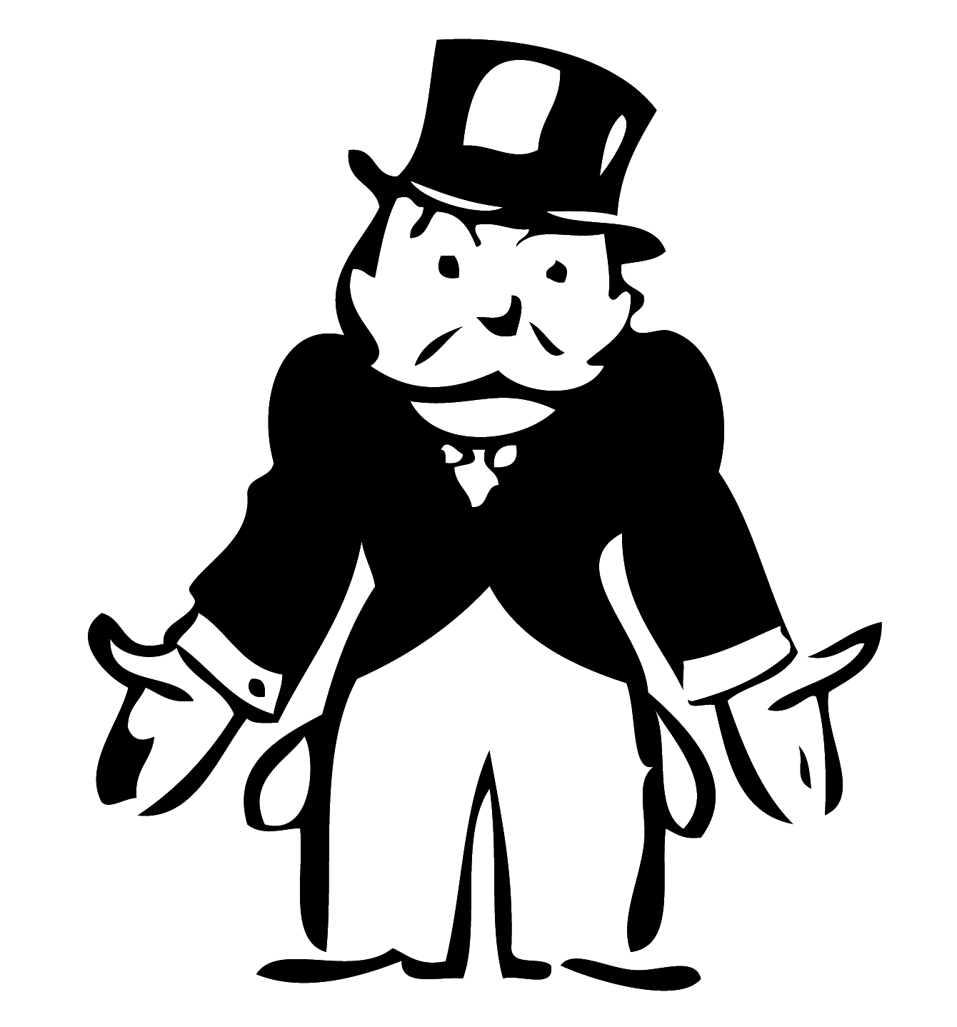 Money rich politician cartoon clipart clip freeuse download Living Stingy: Fight Wealth Inequality - Stop Giving Money to the Rich! clip freeuse download