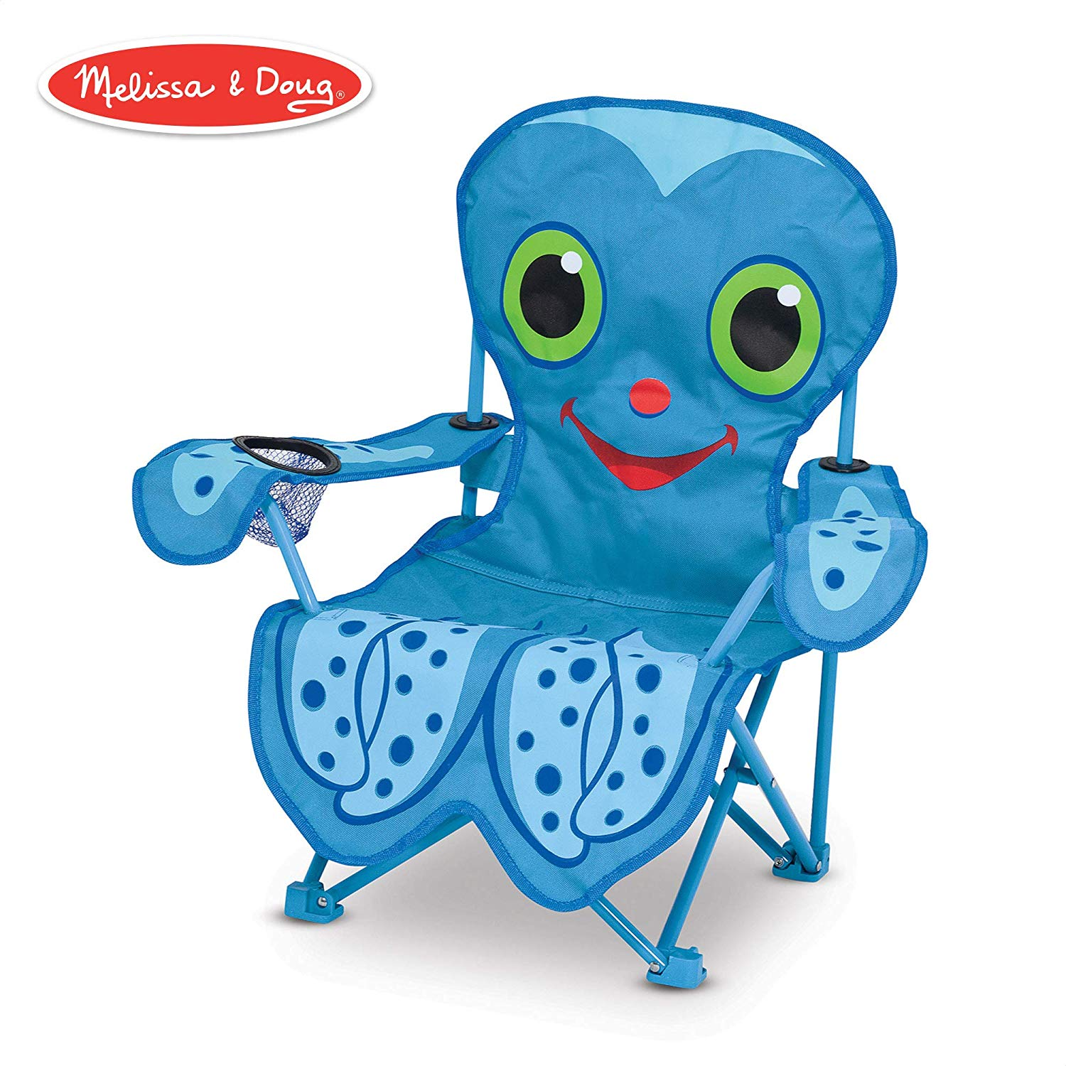 Giving up a chair for parent clipart royalty free Melissa & Doug Sunny Patch Flex Octopus Folding Beach Chair for Kids royalty free