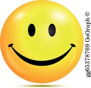 Glad smiley clipart clip royalty free download Glad Smiley Clip Art - Royalty Free - GoGraph clip royalty free download