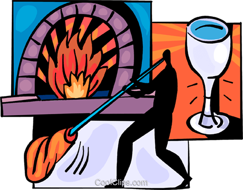 Glass blowing clipart