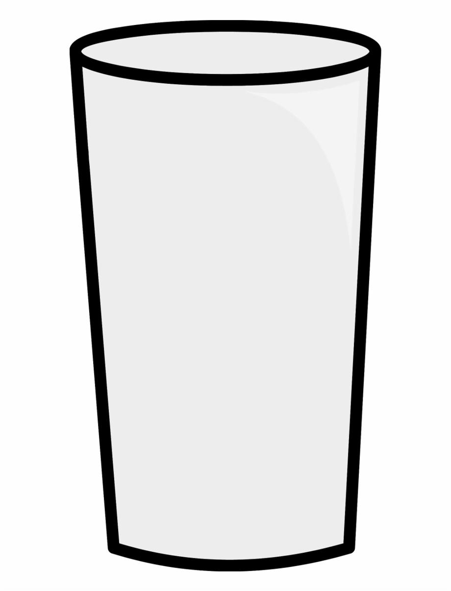 Glass milk clipart svg black and white Glasses Clipart Glass Milk - Transparent Background Glass Clipart ... svg black and white