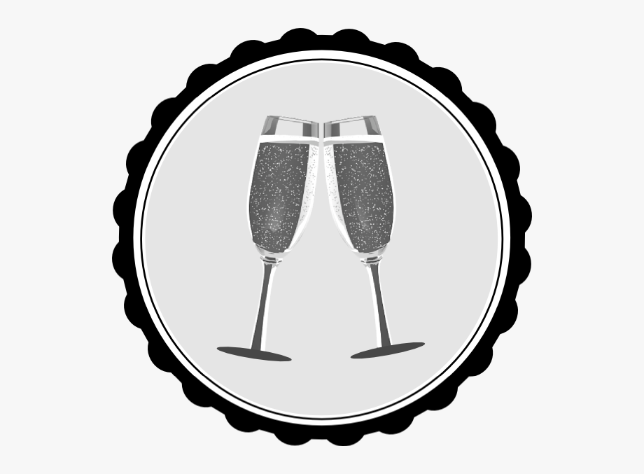 Champagne Clip Art - Silver Champagne Glass Clipart #167332 - Free ... clipart freeuse library