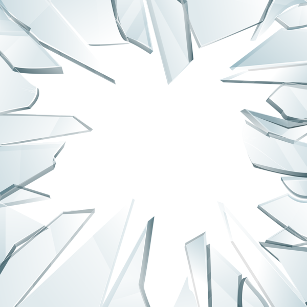 Glass material clipart vector black and white download Broken Glass Png Transparent (+) - Free Download | fourjay.org vector black and white download