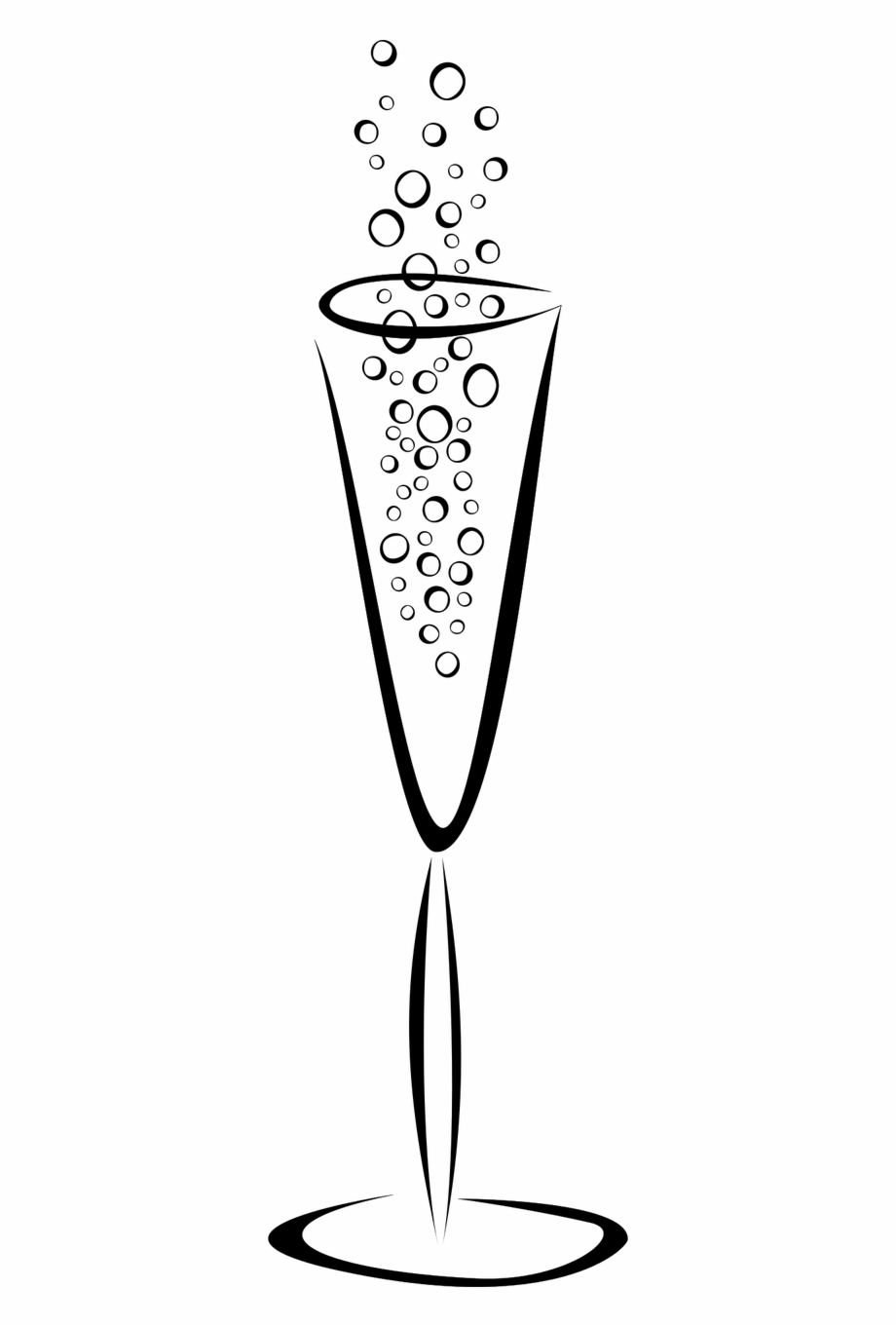 Glass of champagne clipart clip stock Champagne Glasses Clipart Transparent, Transparent Png Download For ... clip stock
