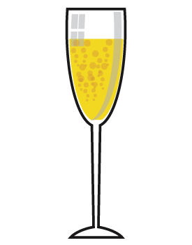 Glass of champagne clipart jpg transparent download Champagne glass clipart free - ClipArt Best - ClipArt Best | toppers ... jpg transparent download