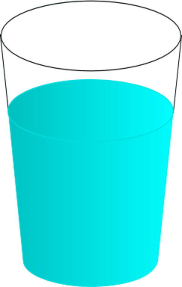 Glass of water icon clipart clipart black and white Cup Scalable Vector Graphics Icon - Glass of Water PNG Clip Art png ... clipart black and white