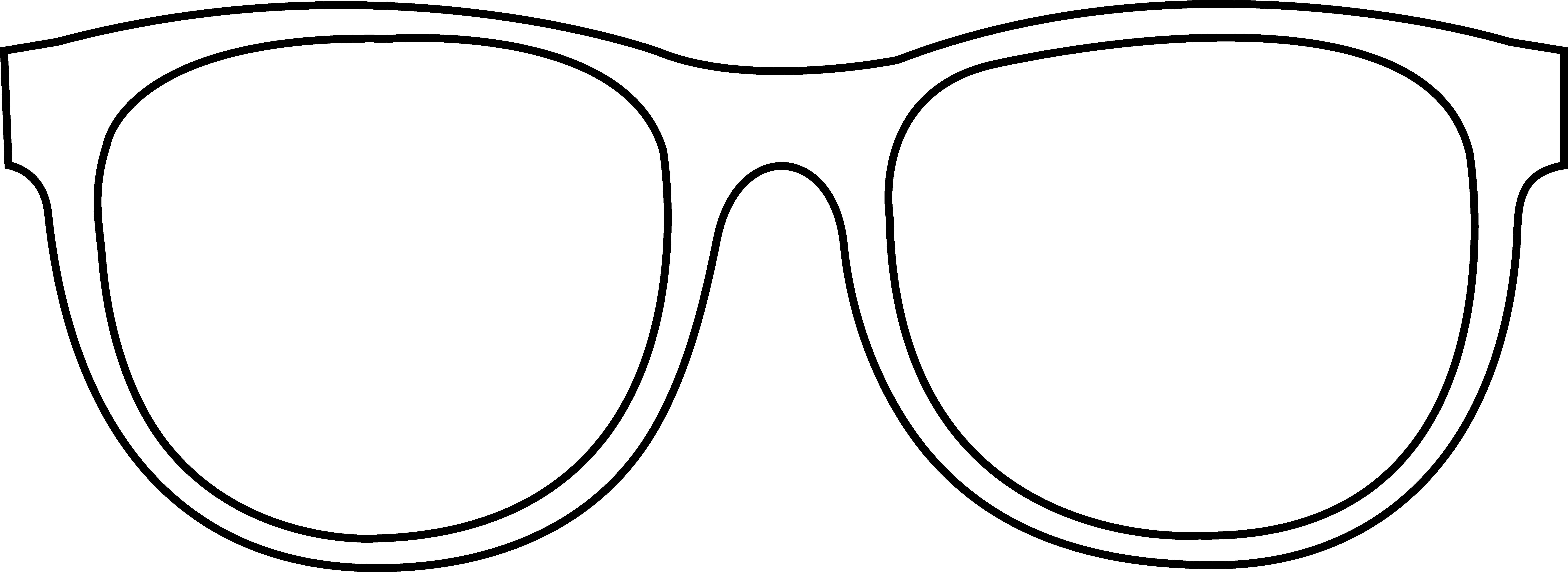 Glasses black and white clipart svg free library Sunglasses Clipart Black And White | Free download best Sunglasses ... svg free library